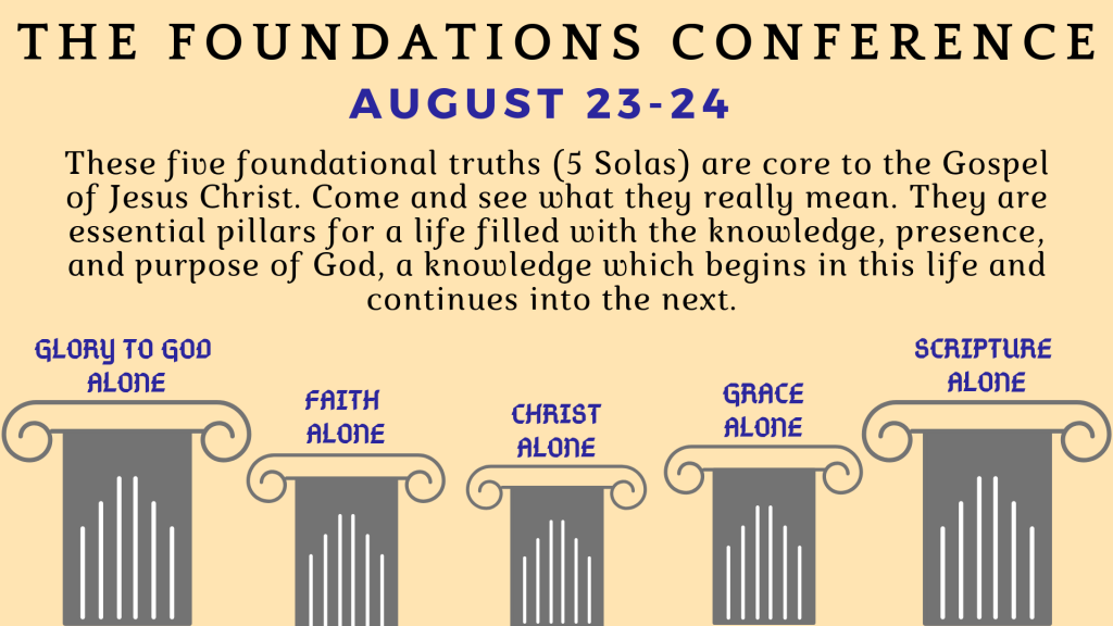 Foundations Conference